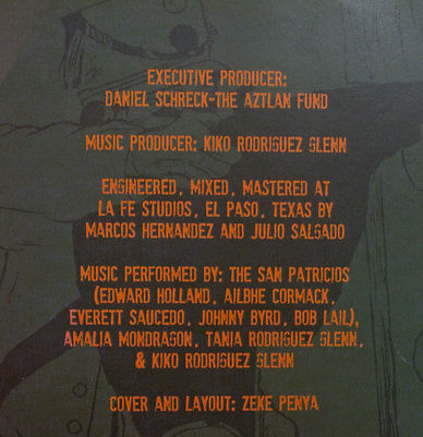 """Battallion San Patricio"" credits"