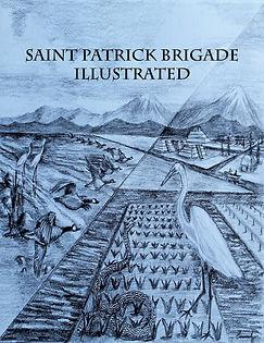 """Saint Patrick Brigade Illustrated"" book cover"