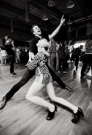 Swing Dance at Eastside Stomp | Ben White Jenna Applegarth