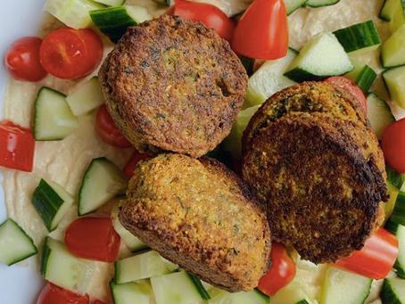 5 Minute Falafel Salad