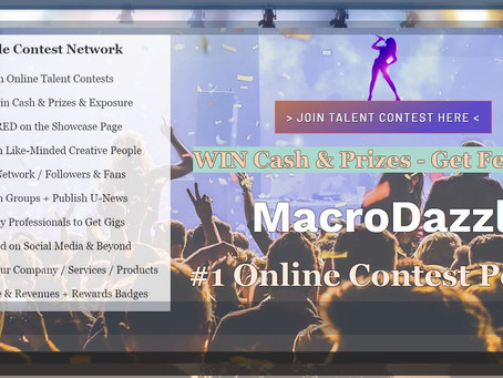 MacroDazzle Contest Network Launches NEW Website 3.0