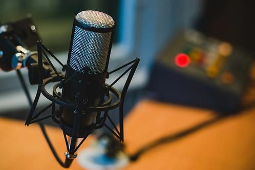 PR Podcast Recording & FEATURING