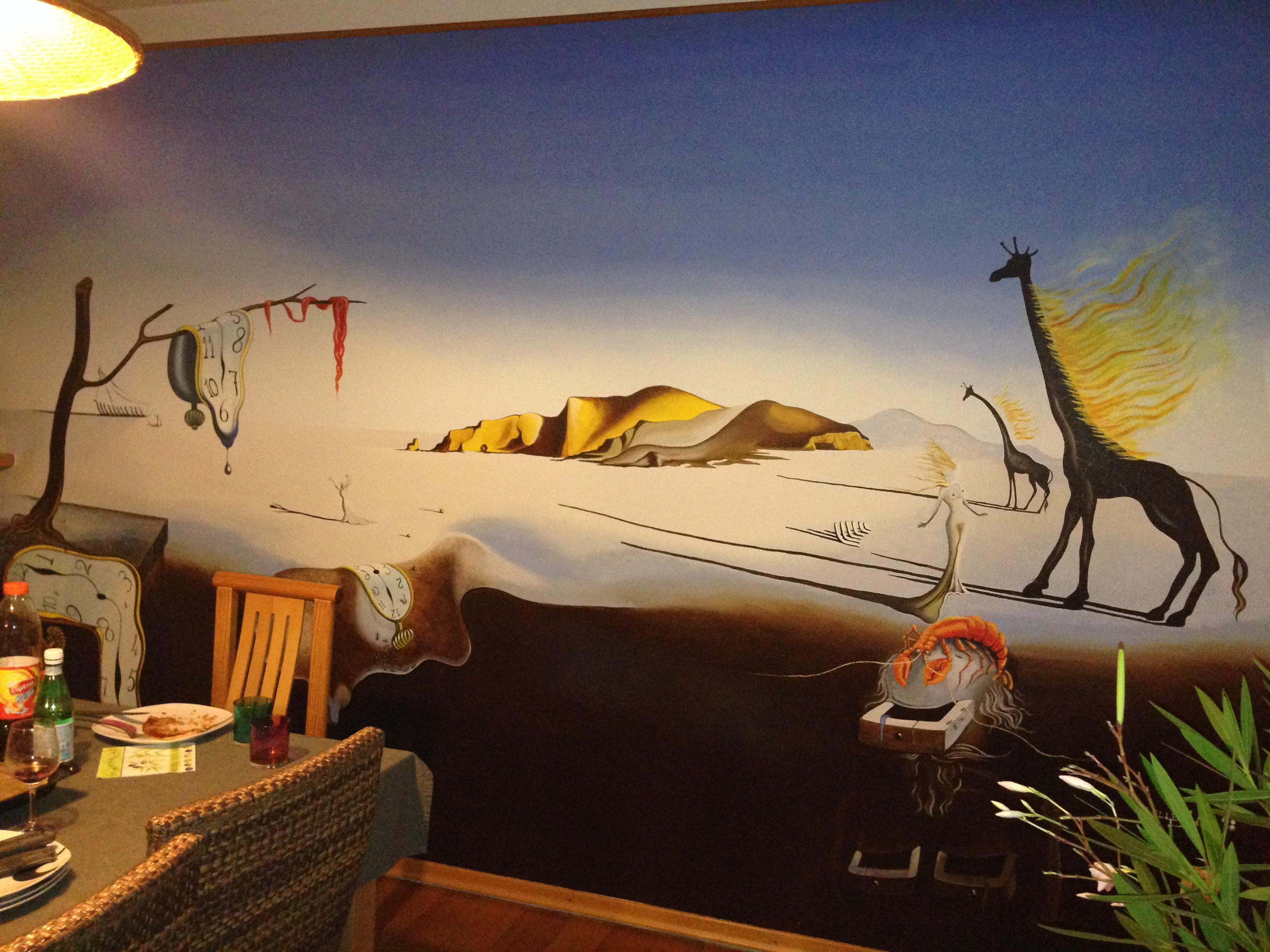 """Dali"" mural"