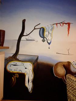 """ Dali "" mural"