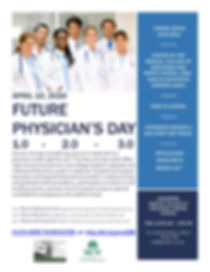 Future Physician's Day 2020 Publicity Fl