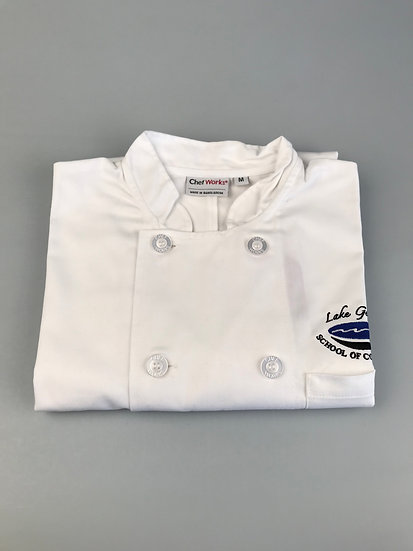 Lake Geneva School of Cooking Chef Coat