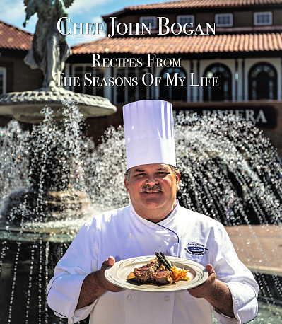 Chef John Bogan| Recipes From The Seasons Of My Life Cook Book Package