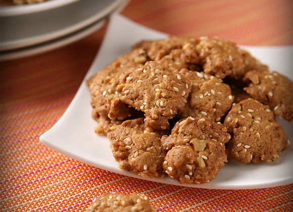 Sesame Walnut Cookies