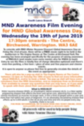 MNDA Awareness Film Evening 19 Poster JP