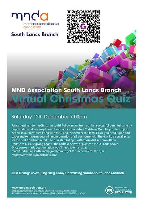 South Lancs Branch Dec Quiz Night Flyer_