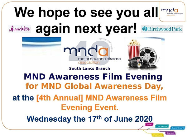 MNDA MND Awareness Film Evening