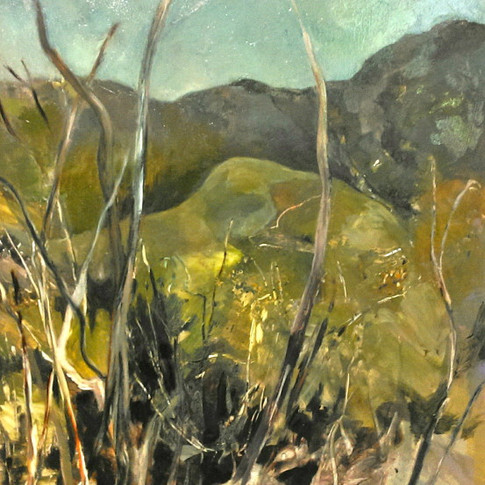 The Hills at Midday - SOLD