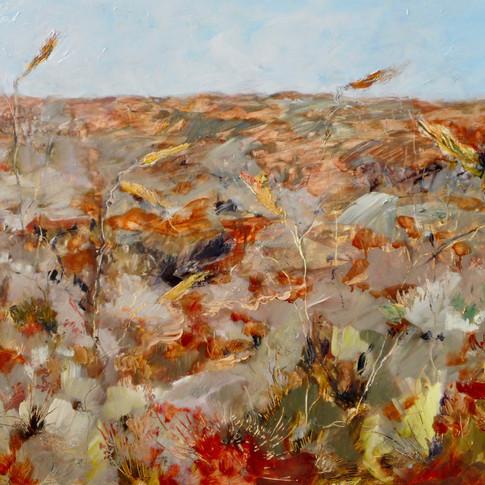 Honey Grevillea - Uluru 2 - SOLD