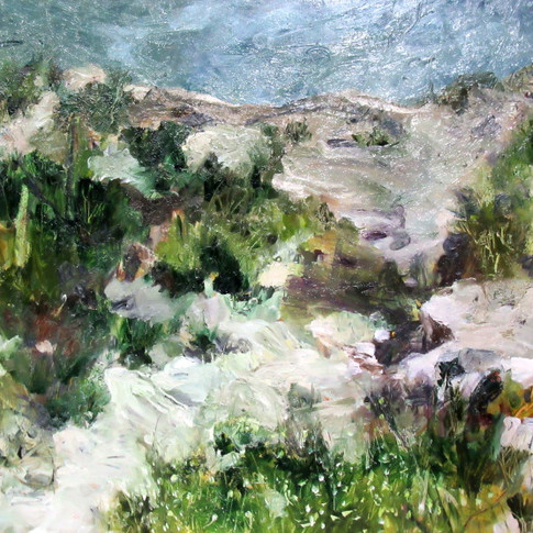 Wildflowers on the Headland - SOLD