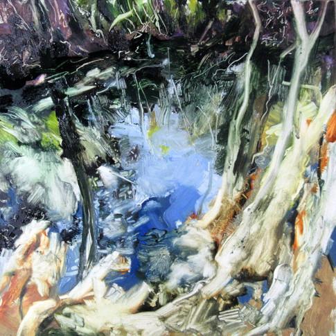 The Hidden Pond -SOLD