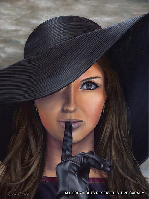 """Whisper"" (original) painting #149"