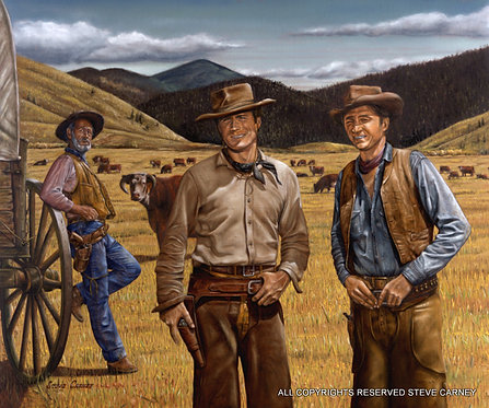 """The Cattlemen"" (original) painting #151"