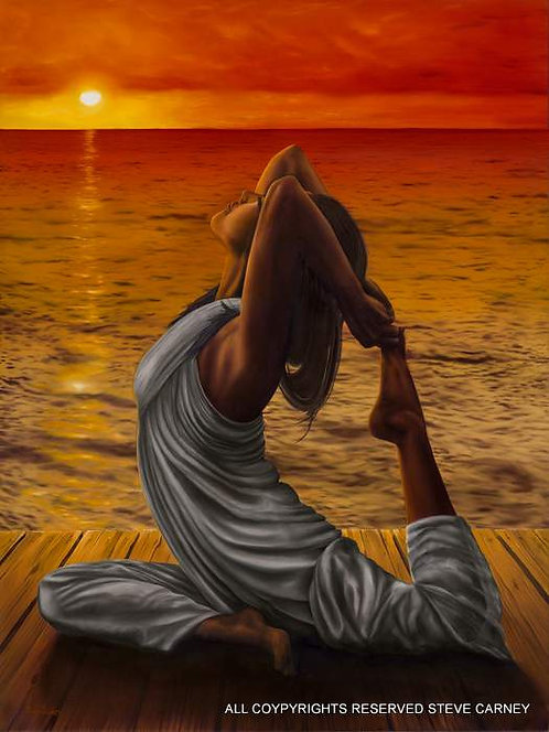 """Sun Goddess"" (original) painting # 125"