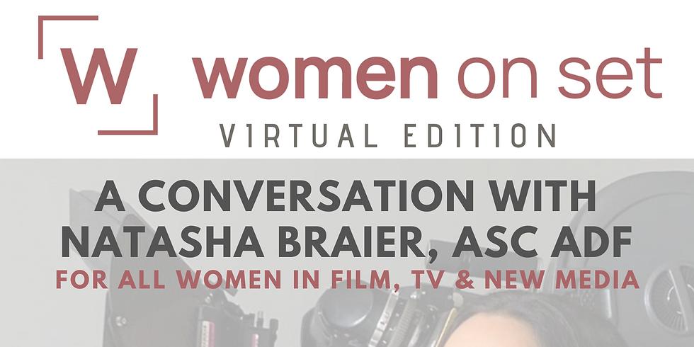 A conversation with Natasha Braier ASC, ADF