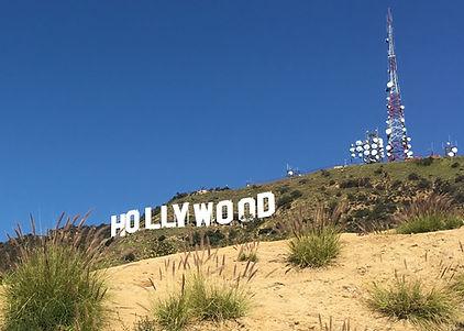hollywood skilt