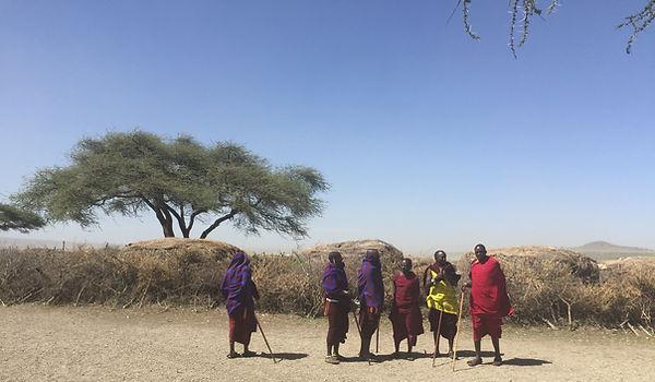 swahili masai tanzania