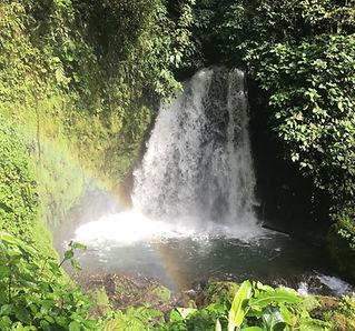 vandfald costa rica