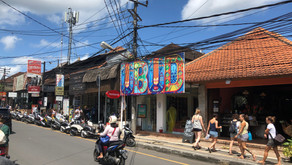 Crazy Ubud på Bali