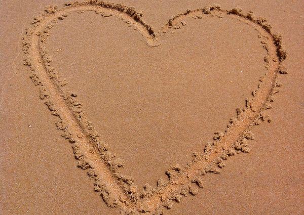 sand hjerte