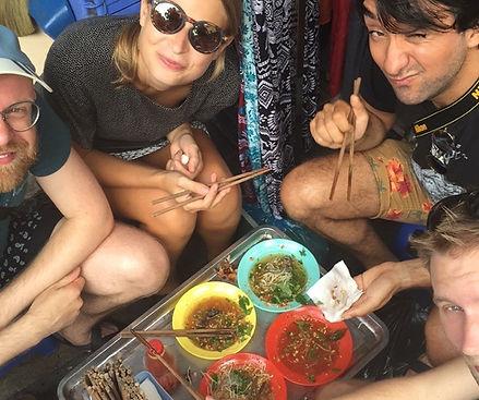 vietnamesisk street food
