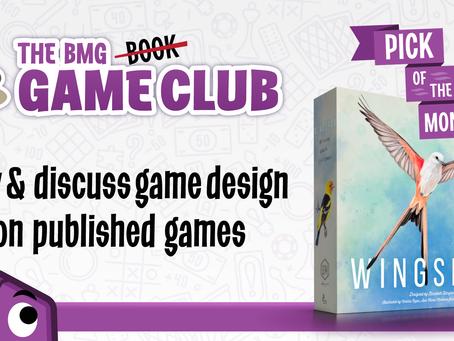 Game Club - April