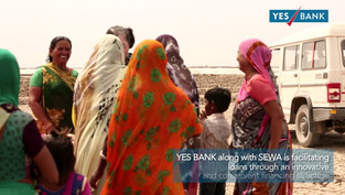 For the many women salt pan workers in the Little Rann of Kutch, YES Bank along with SEWA has brought great relief and improved earnings.