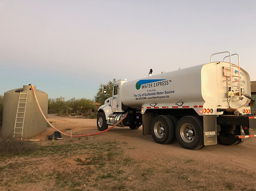 One Time Tank Fill In 4000 Gallons Increments (Non recurring service)