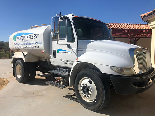 2000 Gallons Water On Demand for Construction