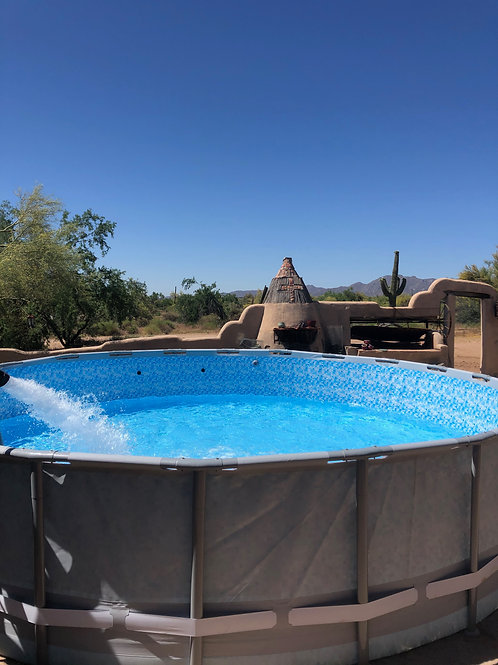 Above Ground Pool Fill In 4000 Gallons Increments