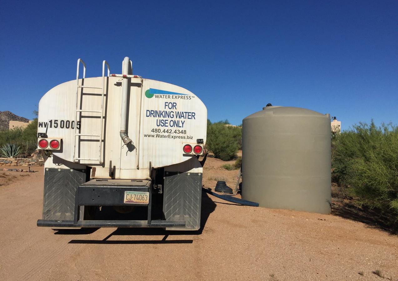 Tank Fill 2k Gallons