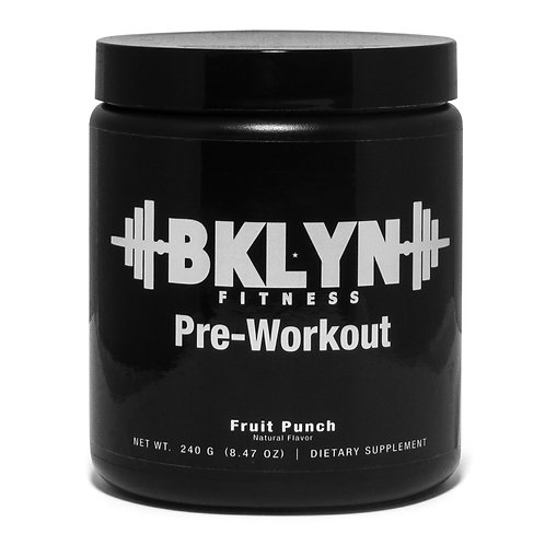 BKLYN Fitness Pre-Workout