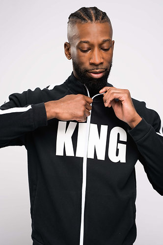 KING Interlock Track Jacket