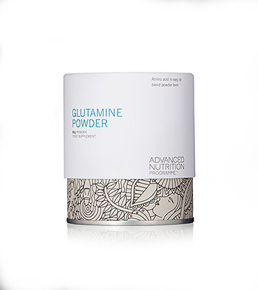 Advanced Nutrition Glutamine Powder available at Natrabrow.