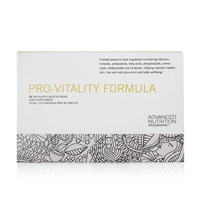 Advanced Nutrition Pro-Vitality Formula available at Natrabrow