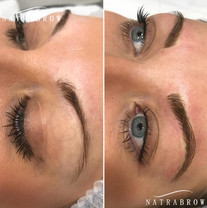 1st session Microblading