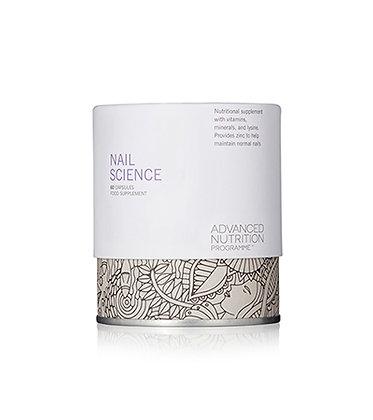 Advanced Nutrition Nail Science available at Natrabrow.