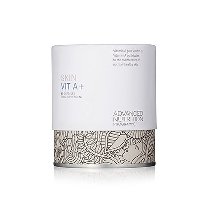 Advanced Nutrition Skin Vit A+ available at Natrabrow.