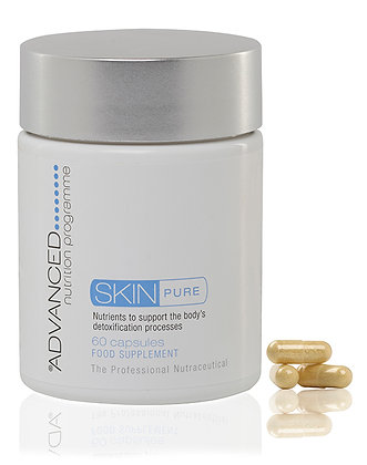 Advanced Nutrition Skin Pure available at Natrabrow.