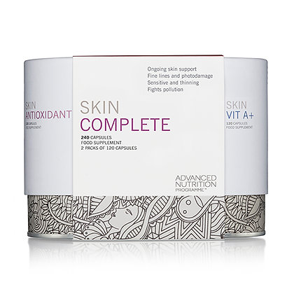 Advanced Nutrition Skin Complete Available at Natrabrow.