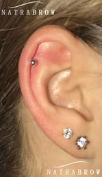 Ear Piercing at Natrabrow