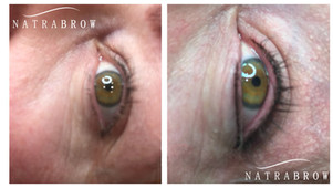 Semi-permenant Eyes at Natrabrow