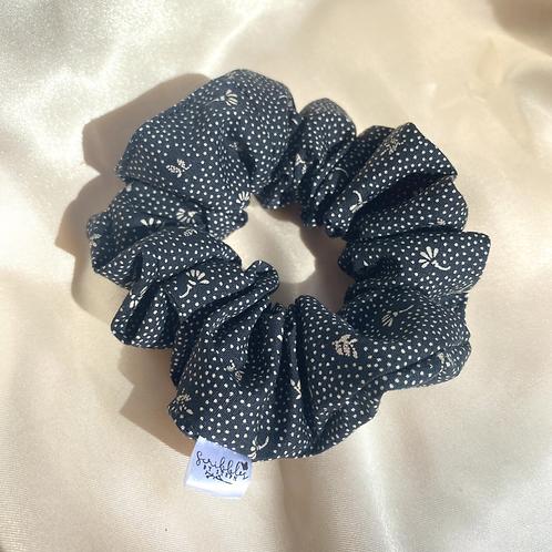 Vintage Black Scrunchie