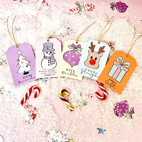 Scribble Gift Tags