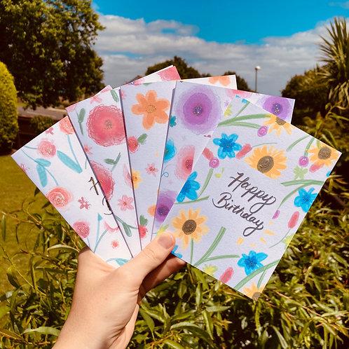 Pack Of Flowery 5
