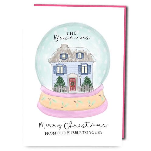 Customised Christmas Bubble